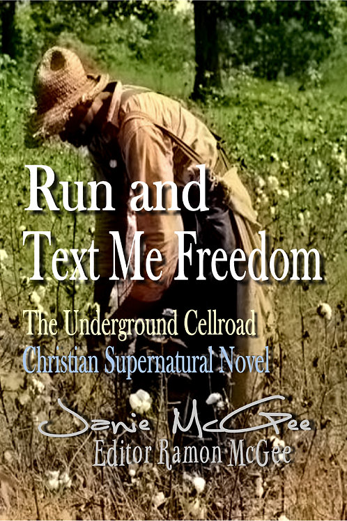 Run and Text Me Freedom Poster