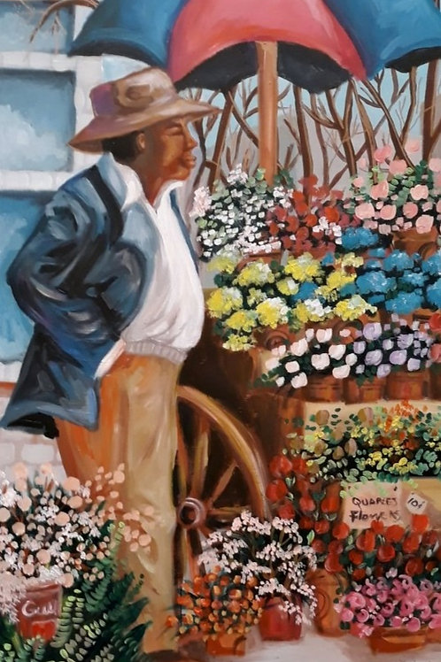 Flower Seller Man 1946