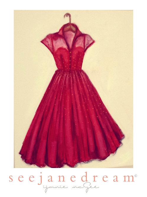Threadz Red Dresss