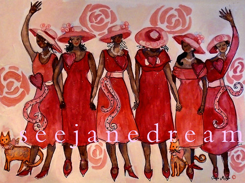 Church Lady Red Dress