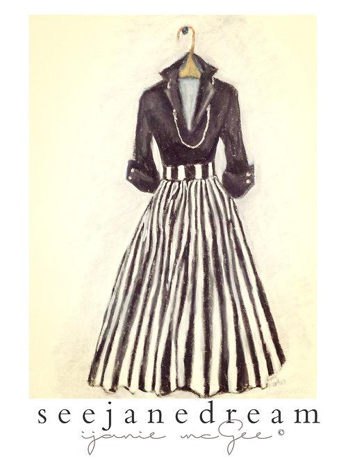 Threadz  Black Stripes