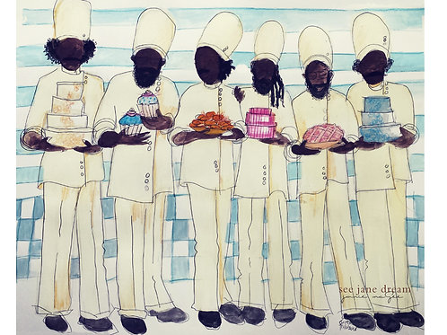 Church Brothers Chefs Print