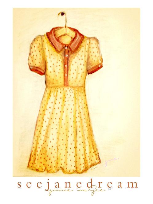 Threadz Yellow Dress