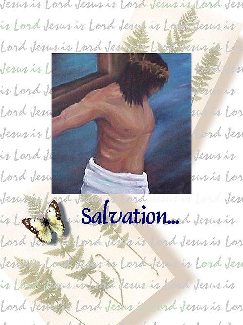 Sunflower Christ Card