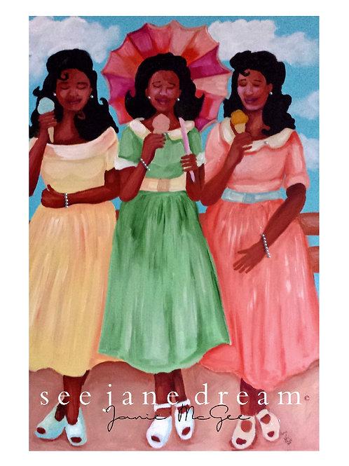 Pink Prayer Mamie Ice Cream