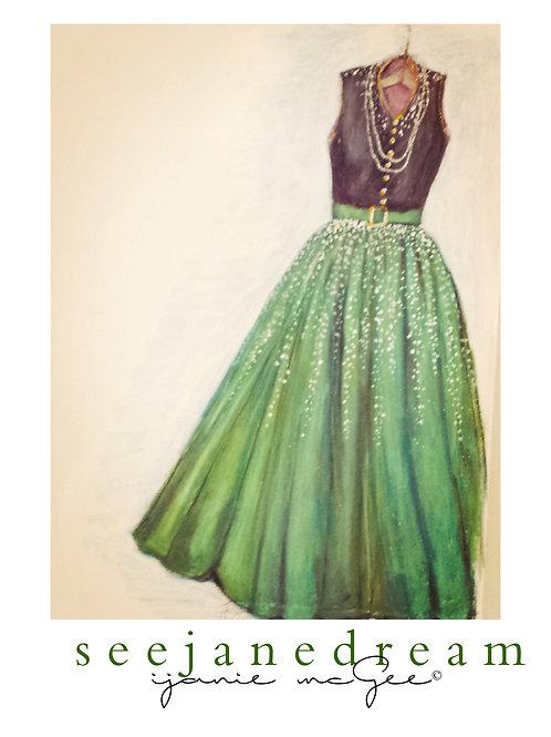 Threadz Long Green
