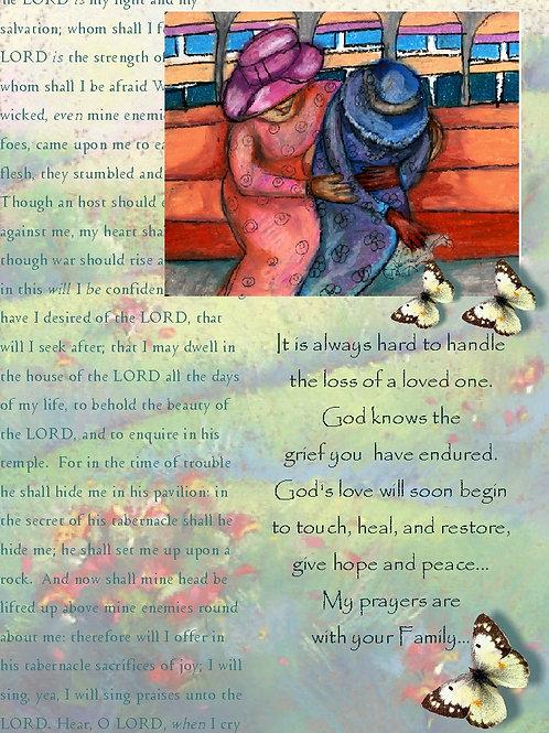 GraceWork Sorrow Card