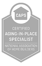 Certified aging-in-place specialist logo from National Association of Homebuilders