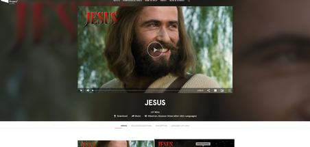 Jesus Film Project JESUS