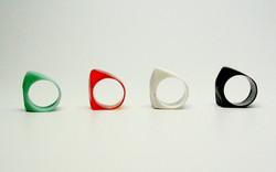 plastic rings, 2014
