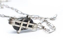 locket and chain, 2010