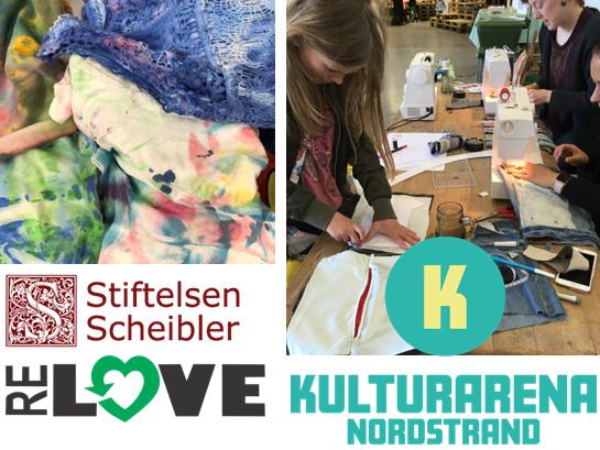 Kulturarena og tekstilverksteder på Nordstrand!