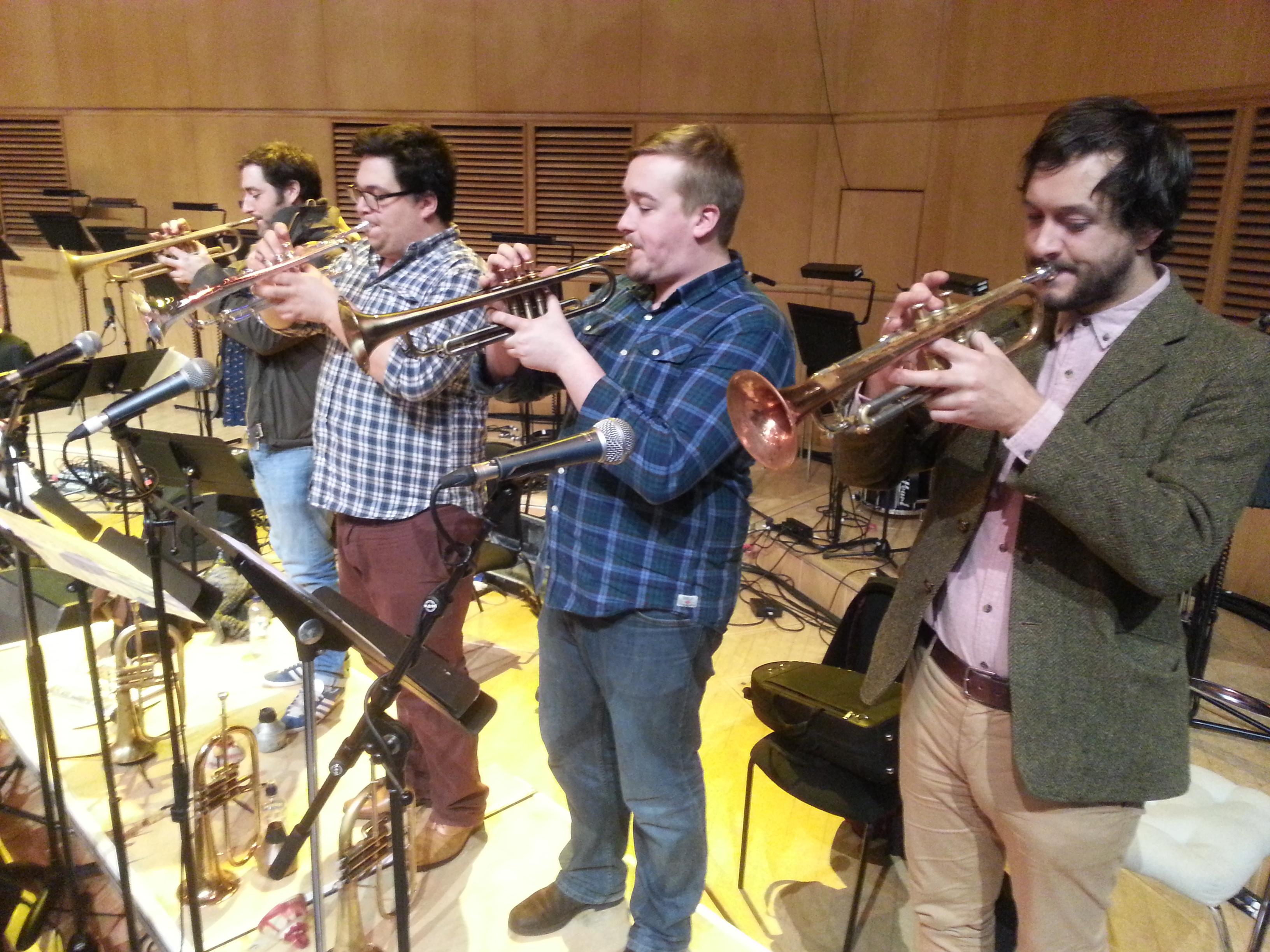 trumpets!