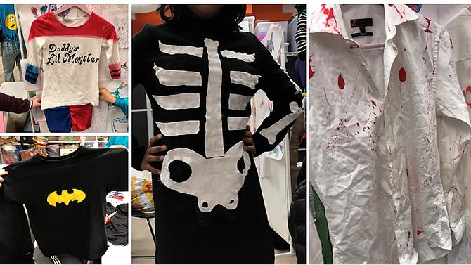 Ferdige halloween-kostymer