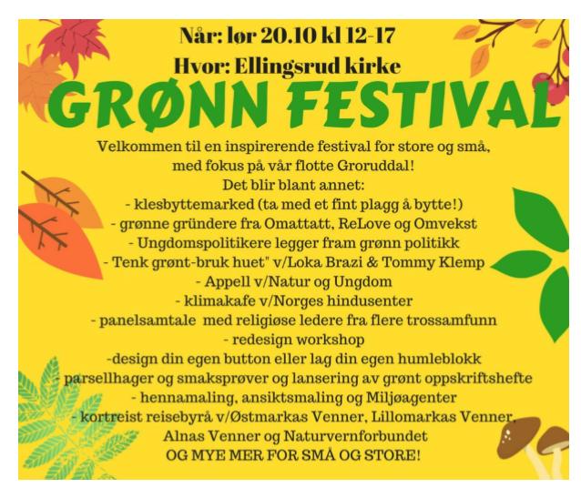 Grønn festival!