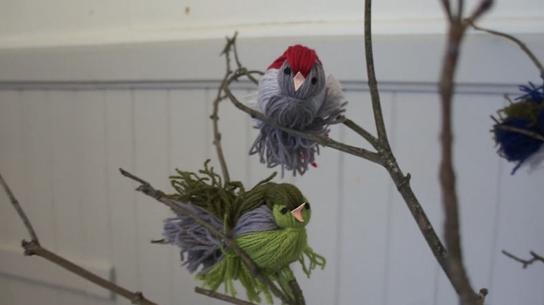 Fugler av restegarn
