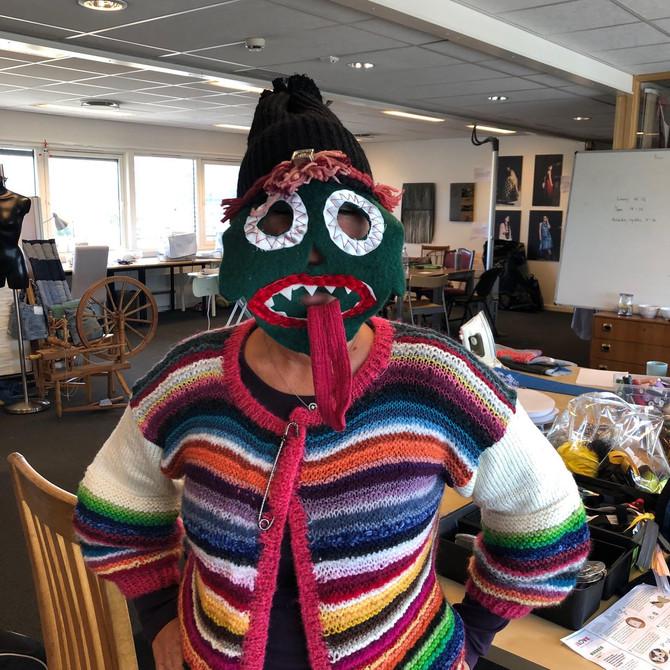 Monstermasker - kreativt verksted på Grünerløkka