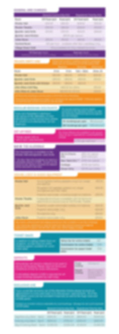 Allendale Room Hire prices