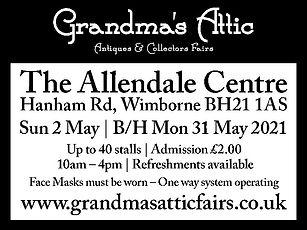 Grandmas Attic Allendale B&W 48mm x 64mm