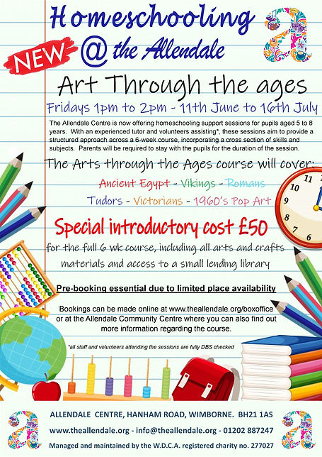 Homeschooling Arts thru the ages-page-0.