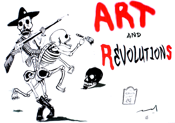 Art and Revolutions Documentary Movie DVD