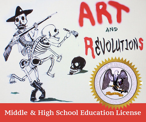 Middle & High School Education DVD License