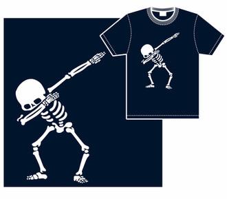 Dabbing Calavera T-Shirt