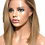 Thumbnail: Beverly Lace Wig Blond méché