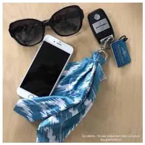Pañoleta de fibra para limpiar lentes,telefonos yla pantalla del celular. Ikat #