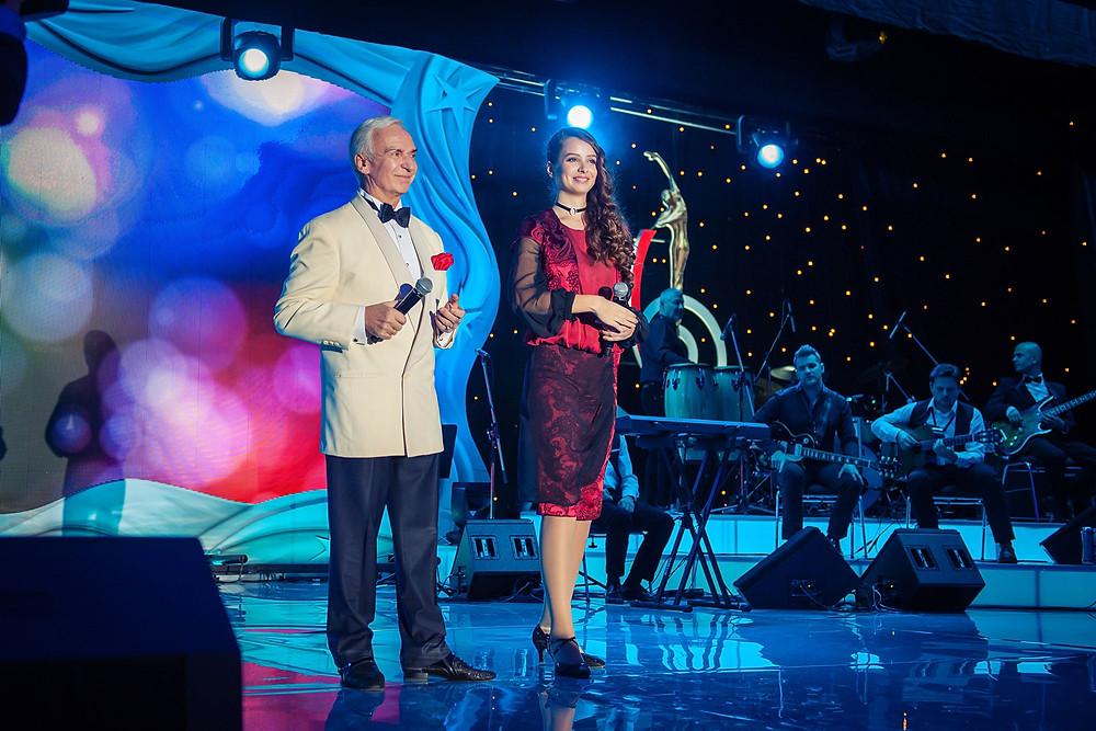 Станислав Попов и Анжелика Эланж