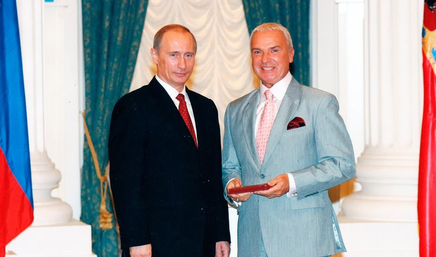 "Присвоение звания ""Заслуженный артист РФ"", 2007"