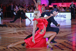 Андреа Паломбо и Любина Кузнецова, Италия, фото Елена Анашина