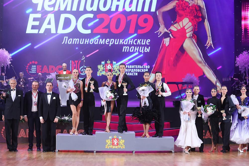 EADC Championship'19, Russia - Junior 2 Latin