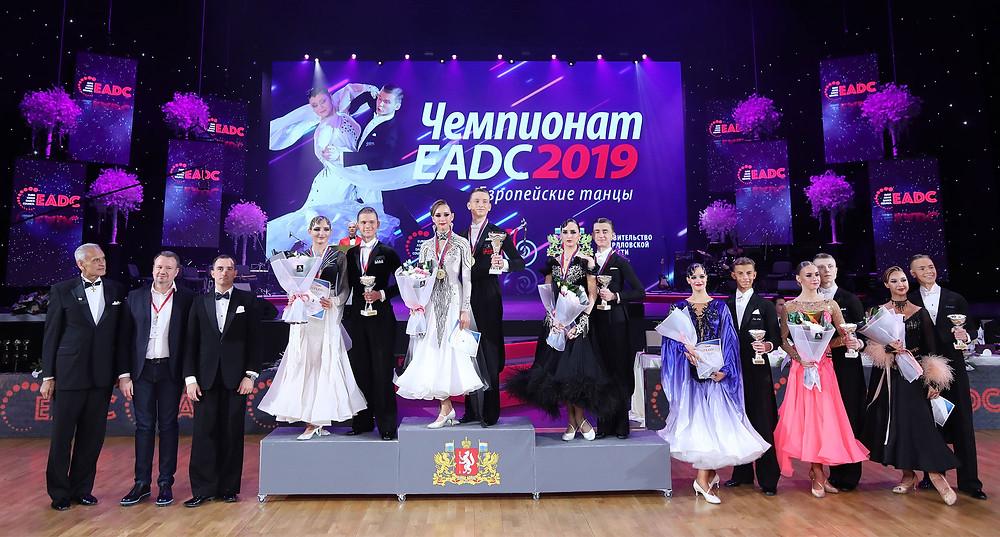 EADC Championship'19, Russia - Junior 2 Ballroom