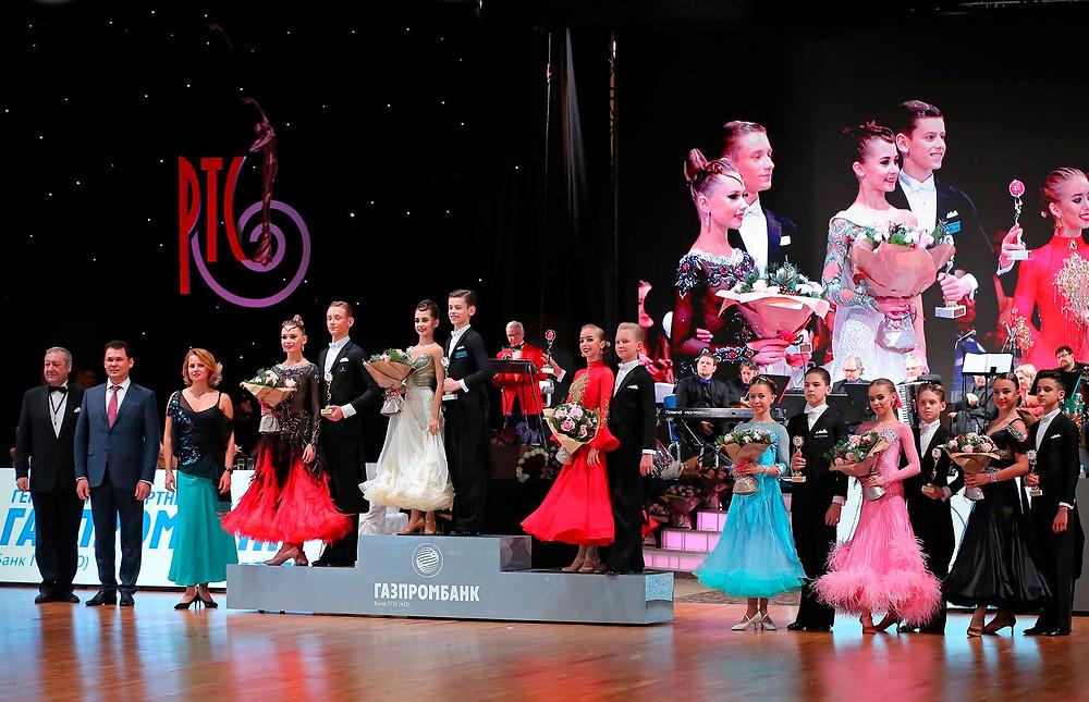 Победители Кубка Станислава Попова по европейским танцам