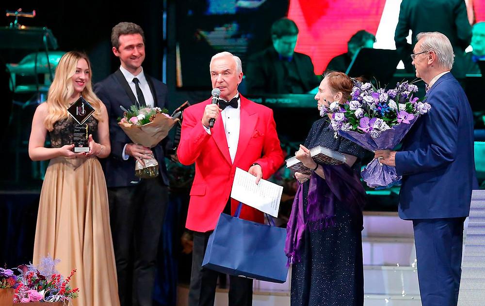 Станислав Попов и Валерия Уральская