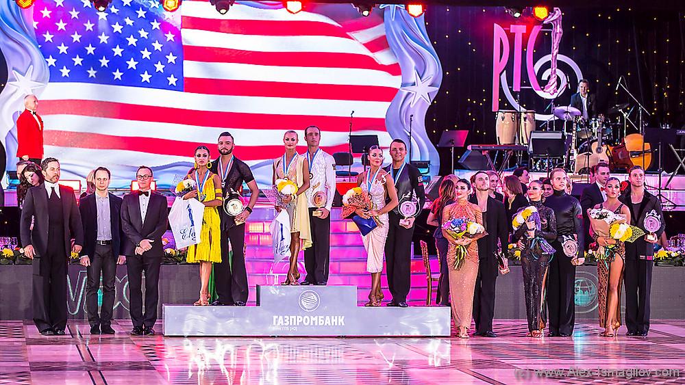 Победители Чемпионата мира 2016 по латиноамериканским танцам