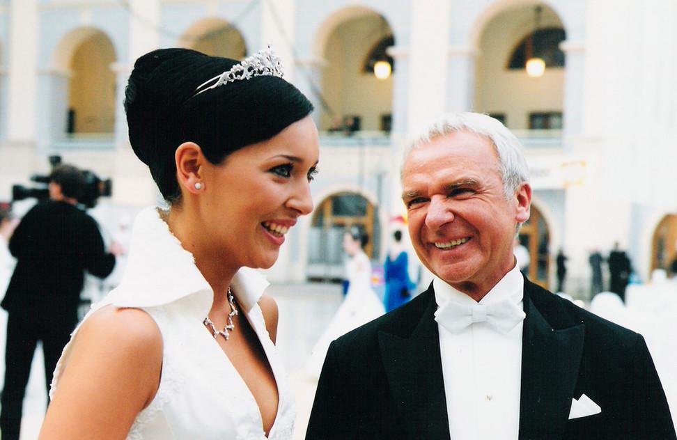 Певица Алсу - дебютанка Венского бала 2003 года.