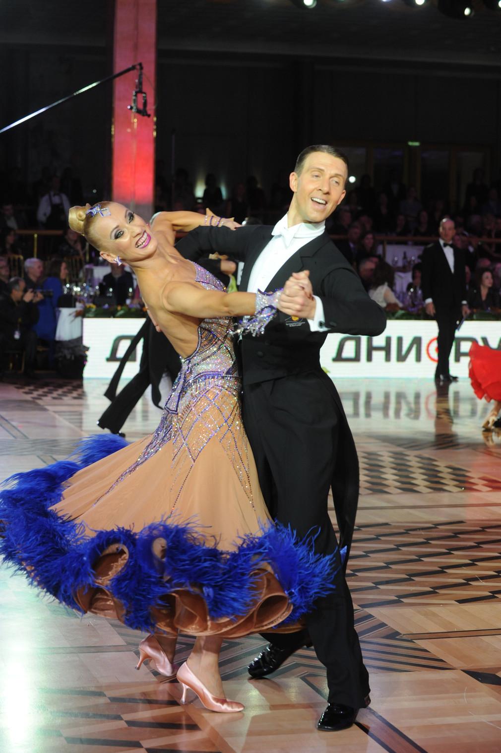 В Москве прошел лучший международный турнир года по бальным танцам