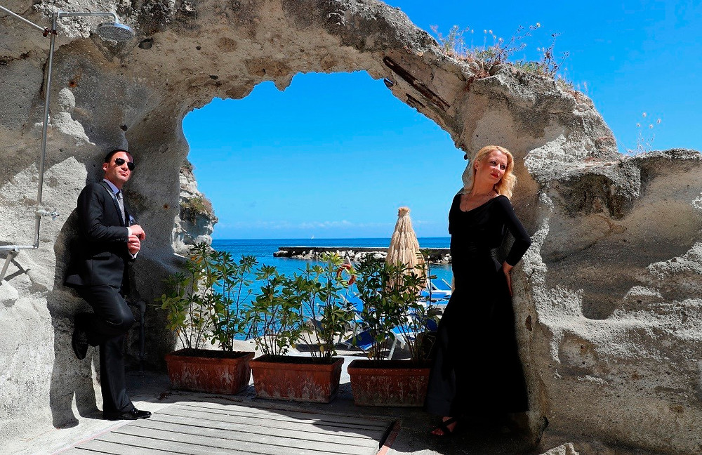 Алессио Потенциани и Вероника Власова, фото из личного архива
