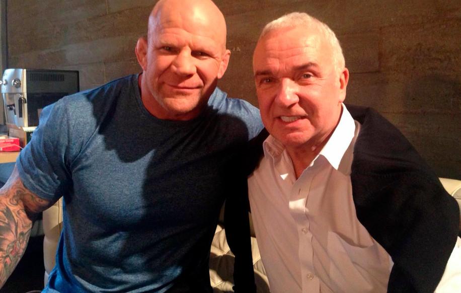 Станислав Попов и Джефф Монсон, двукратный победитель ADCC Submission Wrestling World Championship и чемпион мира по бразильскому джиу-джитсу.