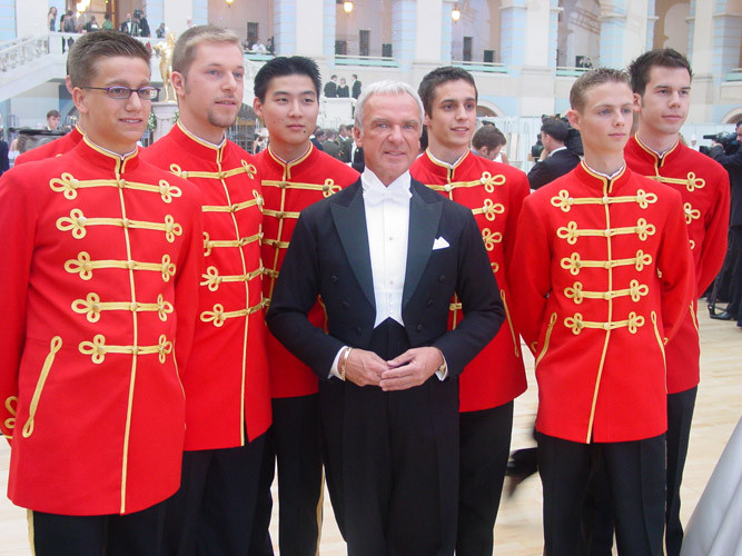 Первый Венский бал 2003 г. - с участниками из Австрии.