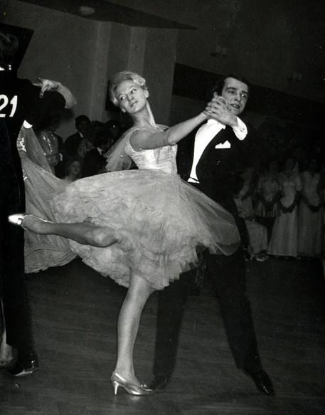 Станислав и Людмила Поповы, первое место на Международном конкурсе в г. Готвальдов, Чехословакия, 1972.