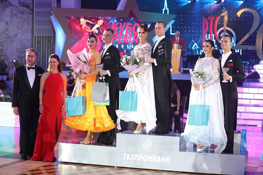 Награждение победителей Кубка Кремля по европейским танцам среди любителей, фото Егор Печников