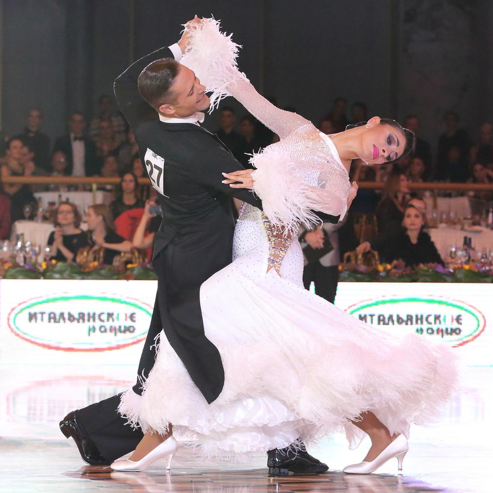 Италия на чемпионате мира WDC по европейским танцам в Кремле