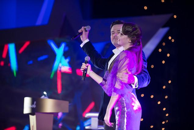 Анжелика Эланж и Леонид Бахталин, фото Сергей Арешев