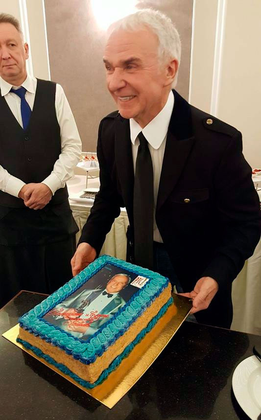 Юбилейный торт Станислава Попова