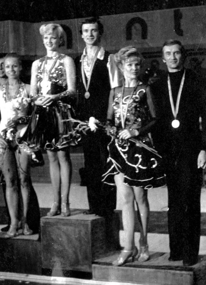 Победители конкурса Янтарная жара в Каунасе 1977.