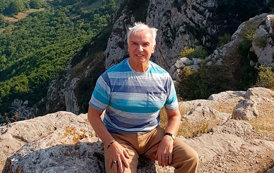 В горах Армении.