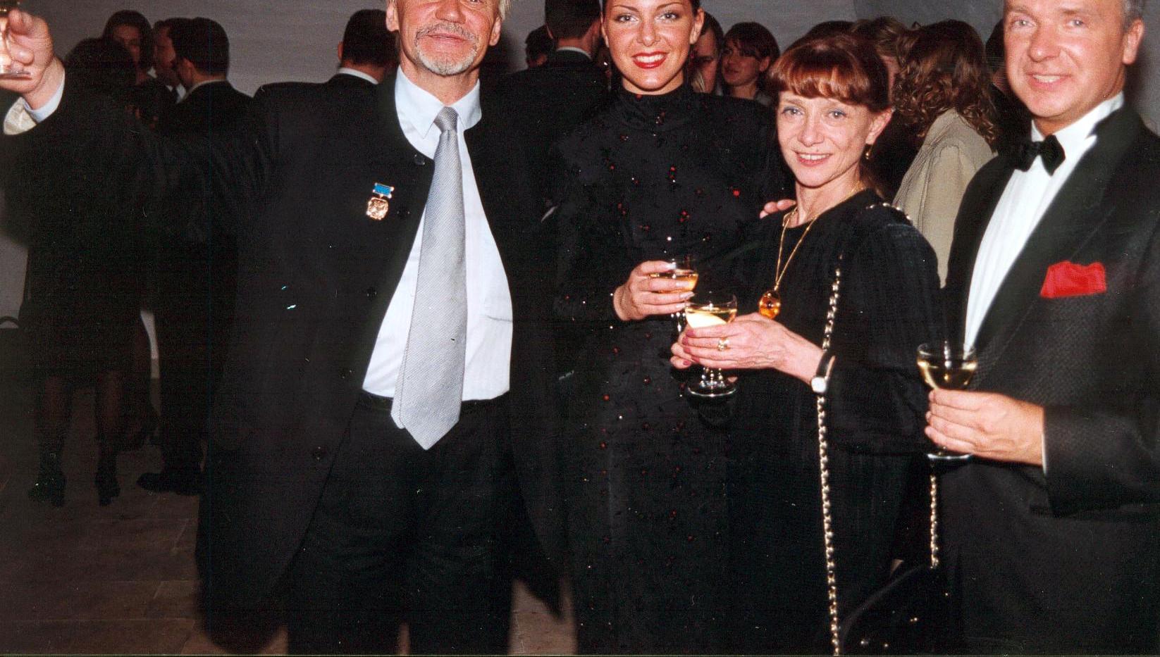 С Владимиром Васильевым и Екатериной Максимовой и Ириной Остроумовой.